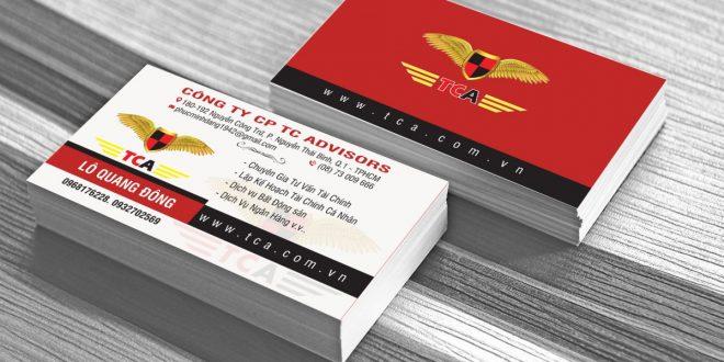 Name card, card visit hay danh thiếp