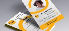 Những lưu ý khi thiết kế name card