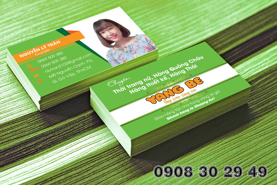 Thiết kế name card
